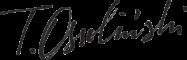 Tomasz Ossolinski logo podpis
